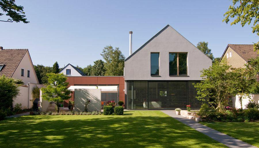 satteldach modern wohnhaus in kln with neubau holz