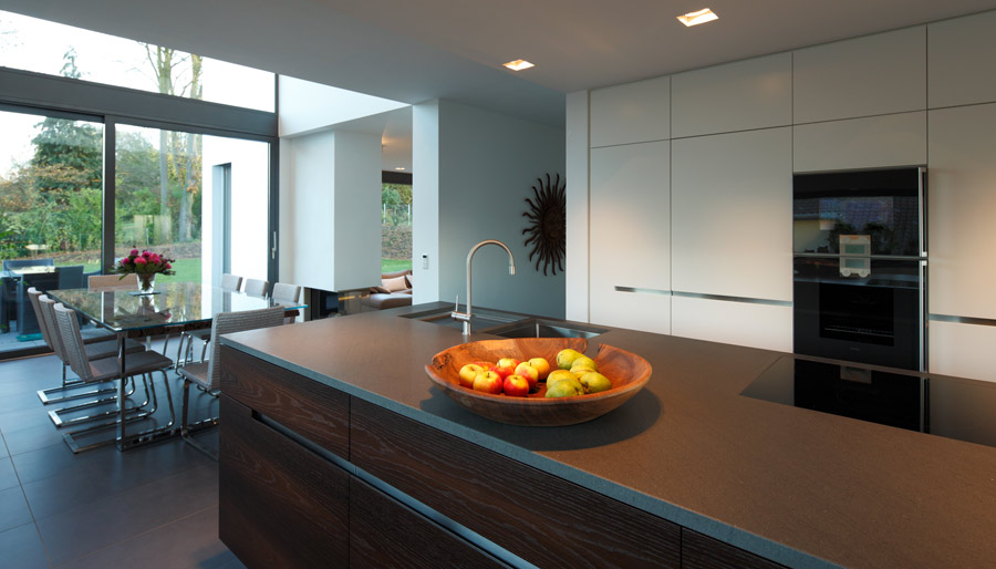 offene k che grundriss. Black Bedroom Furniture Sets. Home Design Ideas
